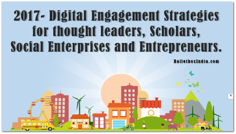 2017-Digital Engagement Strategies guide for Thought leaders, Scholars, Social Enterprises and Entrepreneurs